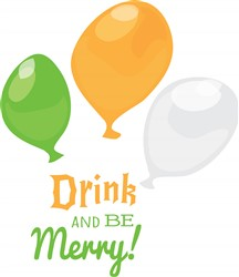Drink And Be Merry print art