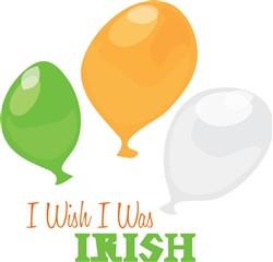 Wish I Was Irish print art