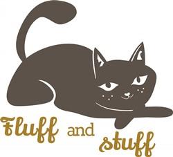 Fluff & Stuff print art
