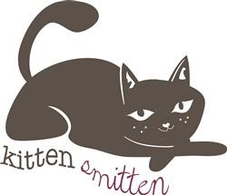 Kitten Smitten print art