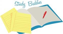 Study Buddies print art