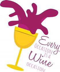 Wine Occasion print art