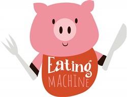 Eating Machine print art