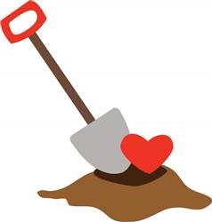 Love Shovel print art