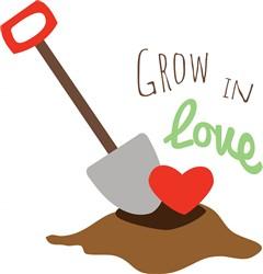 Grow In Love print art