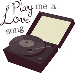 Play A Love Song print art
