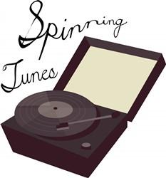 Spinning Tunes print art