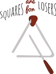 Squares Are For Losers print art