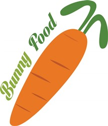Bunny Food print art