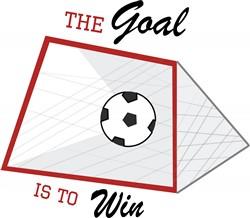 Goal Win print art