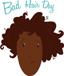 Bad Hair Day print art