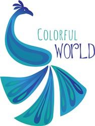 Colorful World print art