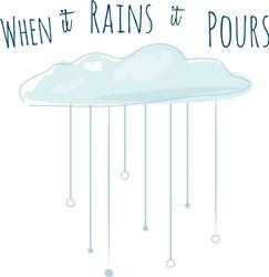 Rains Pours print art