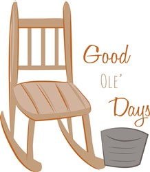 Good Ole Days print art