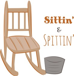 Sit Spit print art