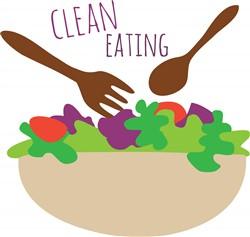 Clean Eating print art