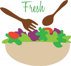 Fresh Salad print art