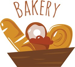 Bakery Pastries print art