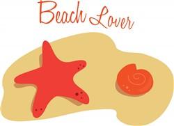 Beach Lover print art