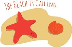 The Beach is Calling print art
