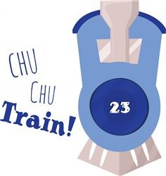 Chu Chu Train print art