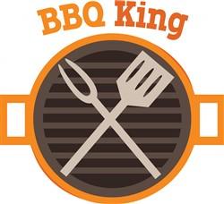 BBQ King print art