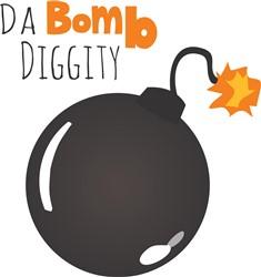 Da Bomb Diggity print art