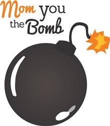 Mom Bomb print art