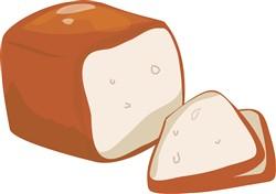 Loaf of Bread print art