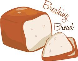 Breaking Bread print art