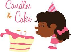 Candles & Cake print art
