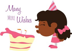 Many More Wishes print art