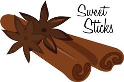 Sweet Sticks print art