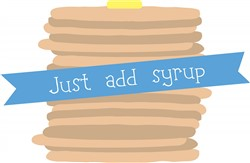 Just Add Syrup print art