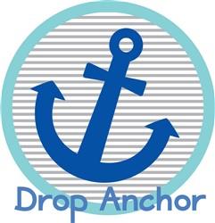 Drop Anchor print art