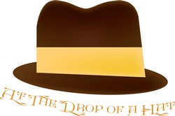 Drop Of A Hat print art