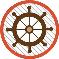 Ship Wheel print art