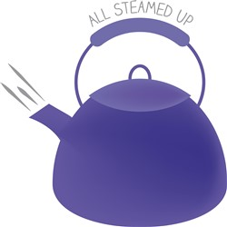 All Steamed Up print art