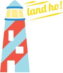 Land Ho print art