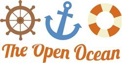 The Open Ocean print art