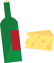 Wine And Cheese print art