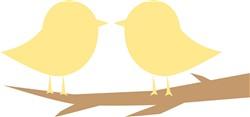 Pair Of Birds print art
