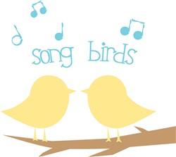 Song Birds print art