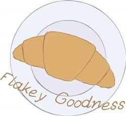 Flakey Goodness print art