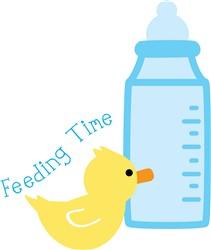 Feeding Time print art