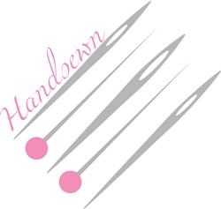 Handsewn Pins print art