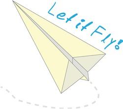 Let It Fly print art