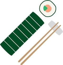 Sushi Rolls print art
