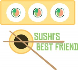 Sushis Best Friend print art