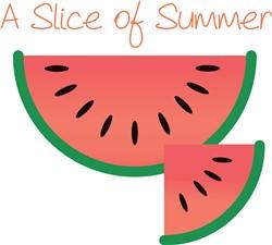 Slice of Summer print art